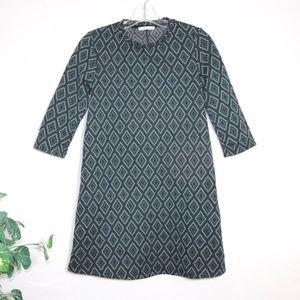 ❣️ZARA Trafaluc Green Aztec Print Dress
